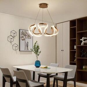 Image 2 - Kronleuchter led Moderne leuchten für hoome esszimmer wohnzimmer dekorative Küche restaurant hängen overhead kronleuchter lampe