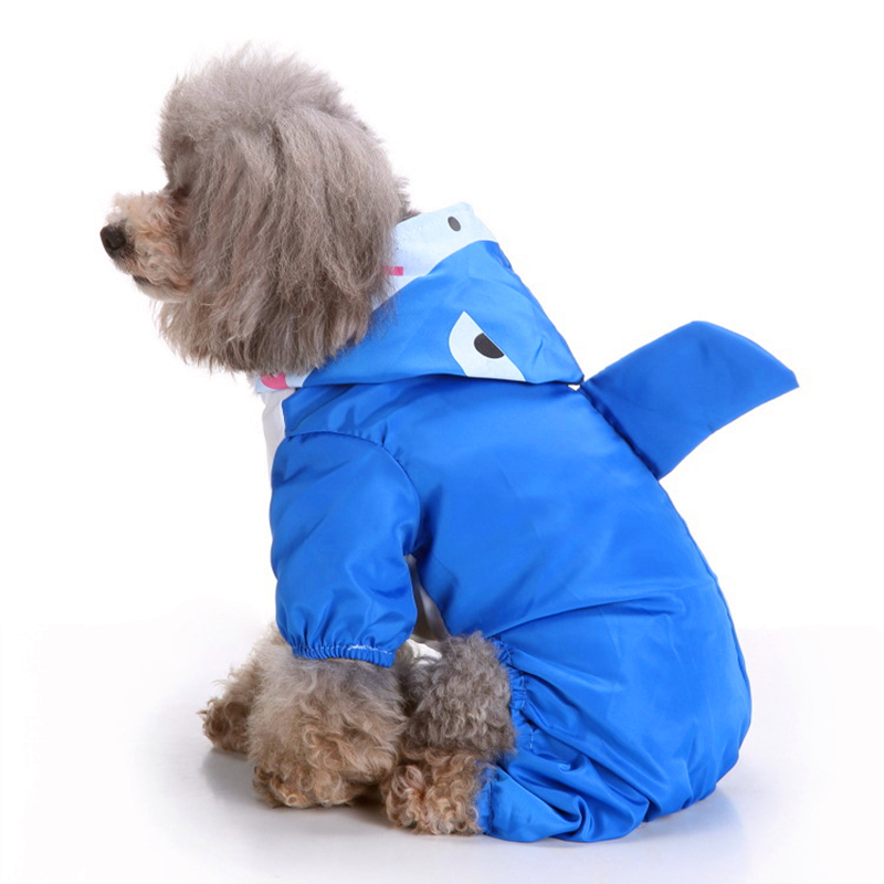 Hooded Pet Dog Raincoats Waterproof Clothes For Small Dogs Chihuahua Yorkie Dog Raincoat Poncho