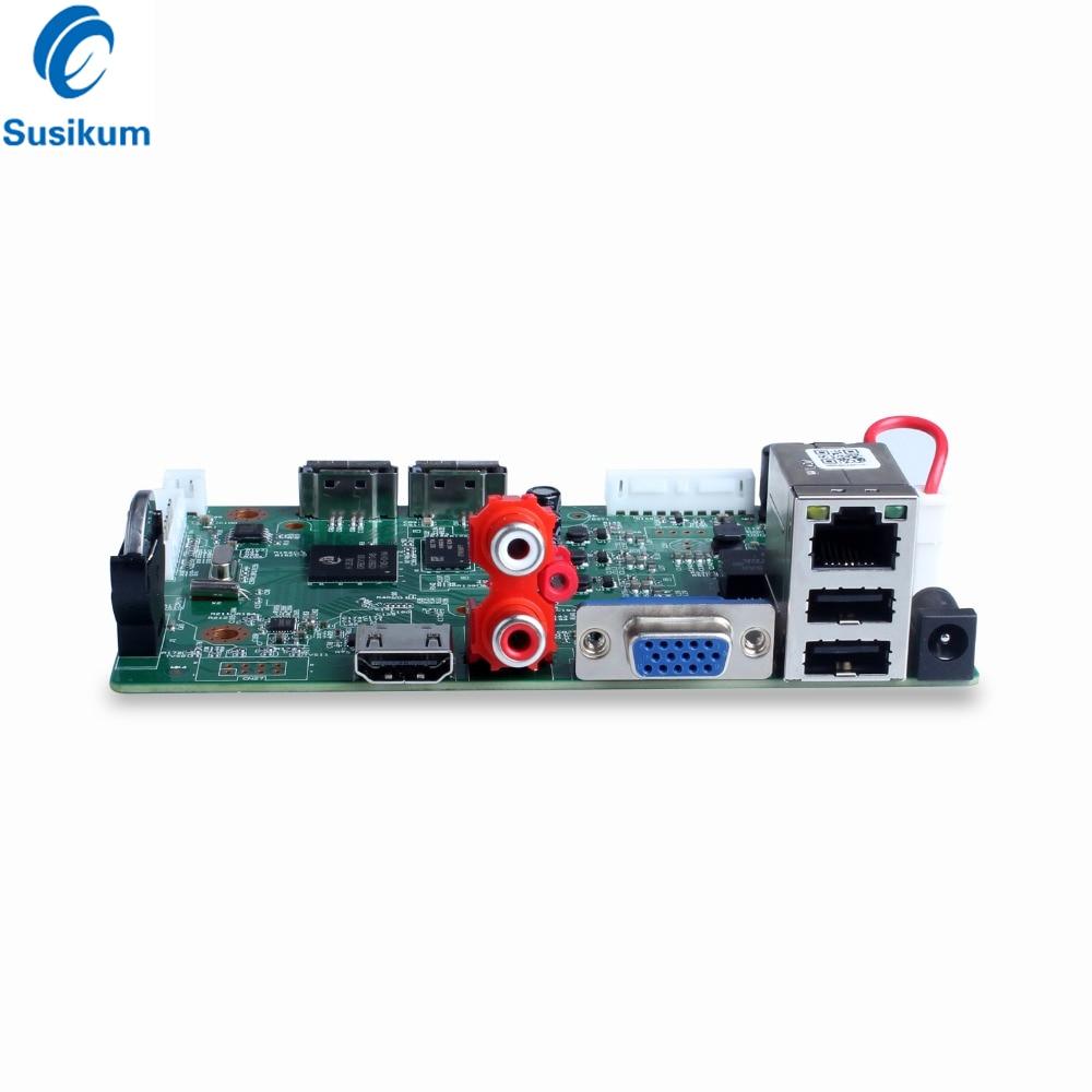 H 265 CCTV 32CH NVR Board 1080P HI3535 ONVIF Security Video Recorder 32CH  1080P/25CH 5MP XMEye APP
