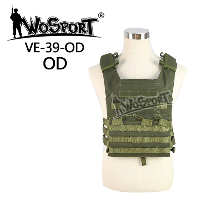 WoSporT Military Tactical JPC Vest Chest Rig Jumper Carrier Nylon MOLLE Gear