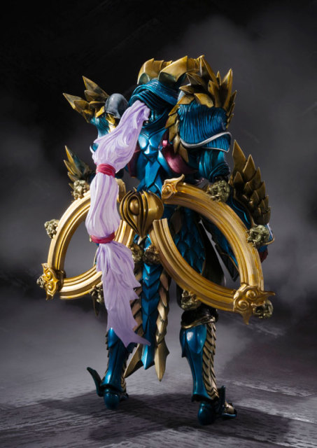 "Original BANDAI Tamashii Nations S.H.Figuarts (SHF) Tamashii MIX Action Figure - Jashin Kakusei Zinogre from ""Monster Hunter"" 2"