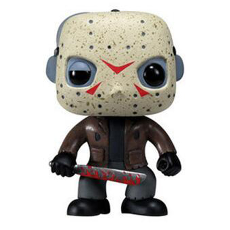 Friday the 13th Character Jason Voorhees Vinyl Cute Figure Model Doll Toys