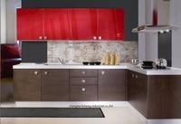 melamine/mfc kitchen cabinets(LH ME028)