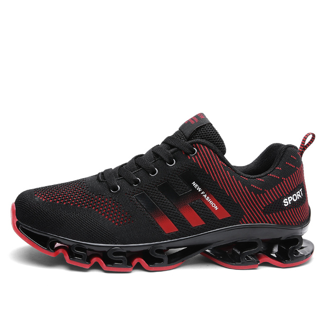 pretty nice 21cc4 299ea US $28.49 5% OFF 2018 New Arrival Men's Springblade Drive Running Shoes  Professional Gym Sports Athletics Blades Sneakers -in Running Shoes from ...