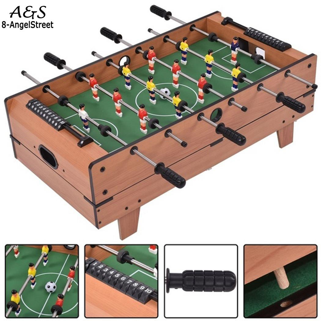 Funny 1Pc Table Foosball Soccer Games Table Leisure Game As For Toy Picture Mini Top Table Party Football Home Family