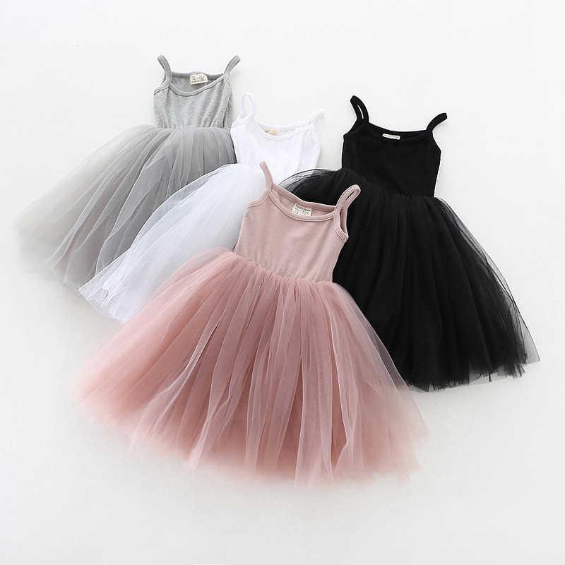 4 цвета, летнее платье для девочек, Повседневная стильная одежда для маленьких девочек, детские платья, 2018 хлопок, ТРАПЕЦИЕВИДНОЕ платье принцессы на день рождения