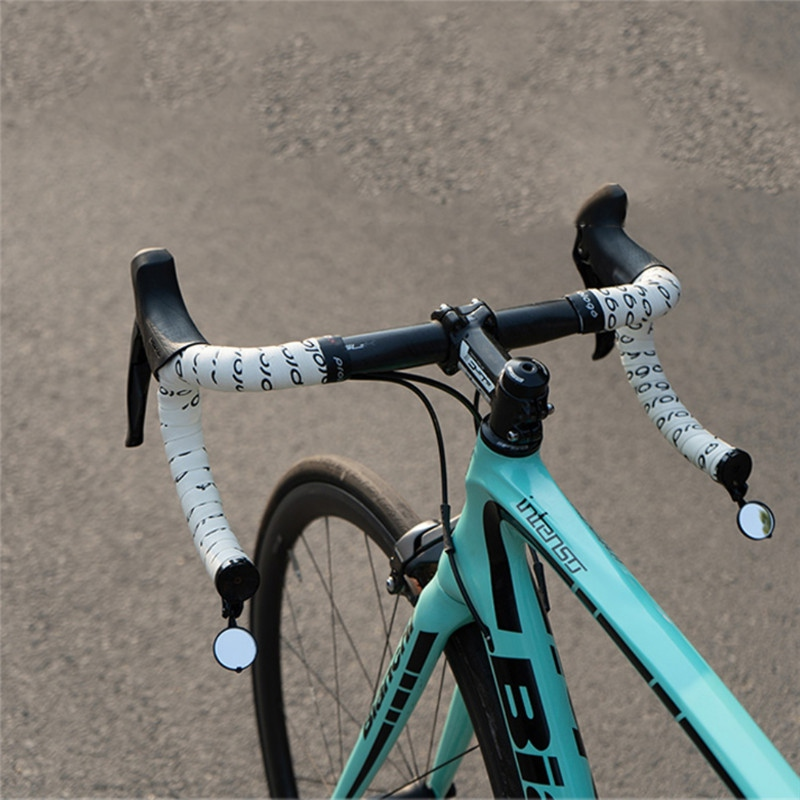 Bike Accessories Bike Rearview Flexible Glass Lens Mirror Side Safety Rear Cycling Bicycle View Mirror Rear Mirror For Bicycle
