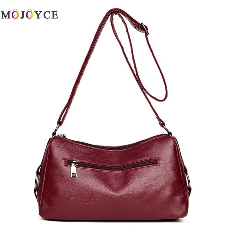 Luxury Handbags Women Bags Designer Elegant Office Ladies PU Leather Shoulder Bag Vintage Female Bolsa Feminina 4