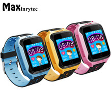 GPS tracker kids Smart Watch Q528 Y21 baby watch for android apple iphone 8 camera SOS Call Passometer pk Q90 Q50 children clock(China)