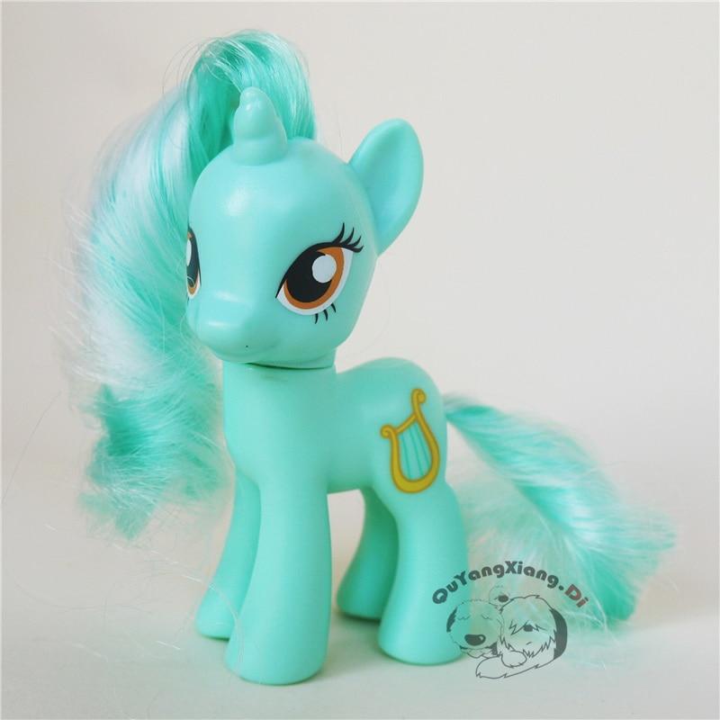 Фигурки героев из мультфильма «лошадиная лошадь», 8 см, игрушки для детей
