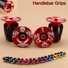 Bike Handlebar End Plugs MTB Road Bicycle folding bike Cycling Aluminum Handlebar Grips High Quality Handle Bar Cap 2 pcs цена