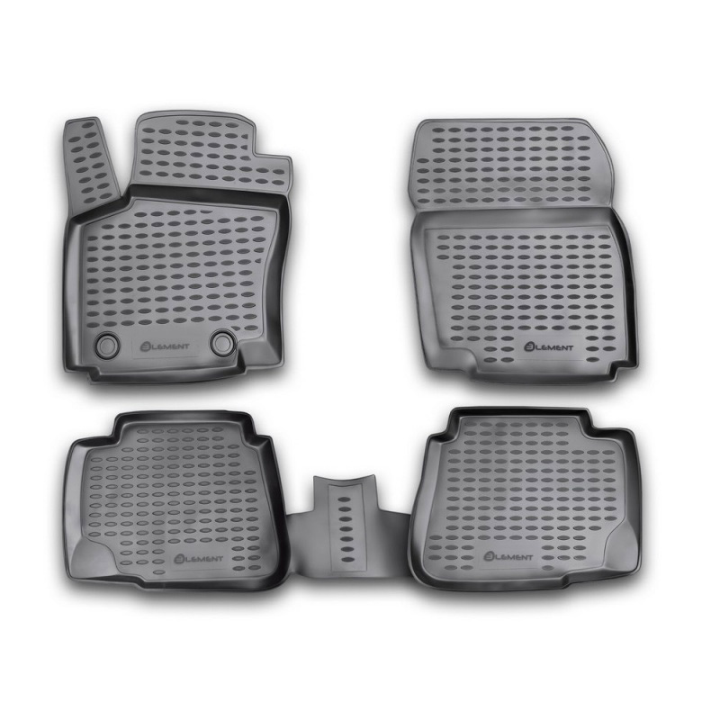 Mats in the salon For FORD Mondeo 2007-2014, 4 PCs (polyurethane) mats in the salon for volvo xc70 2007 4 pcs polyurethane