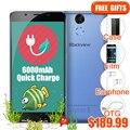 "Blackview P2 4G Smartphone 6000mAh Big Battery Quick Charge 5.5"" MT6750T Octa Core 4GB 64GB Fingerprint 13.0MP 1920*1080P Phone"