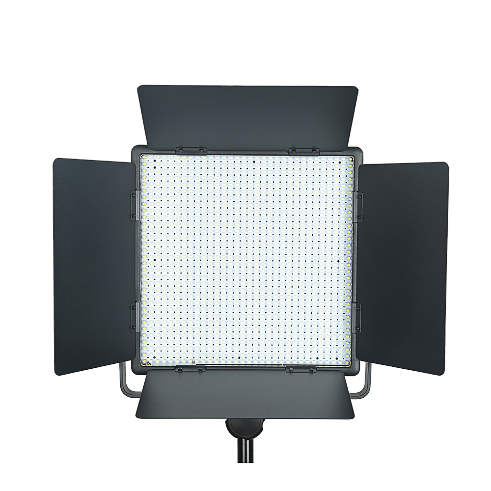 Top Quality Godox LED1000C 3300K-5600K LED Video Continuous Light Lamp Panel (Lux: 4400) godox professional led video light led1000c changeable version 3300k 5600k new arrival free shipping