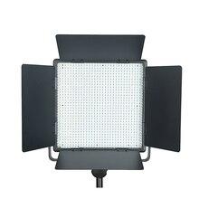Одежда высшего качества Godox LED1000C 3300 К-5600 К светодиодные видео непрерывное свет лампы панели (lux: 4400)
