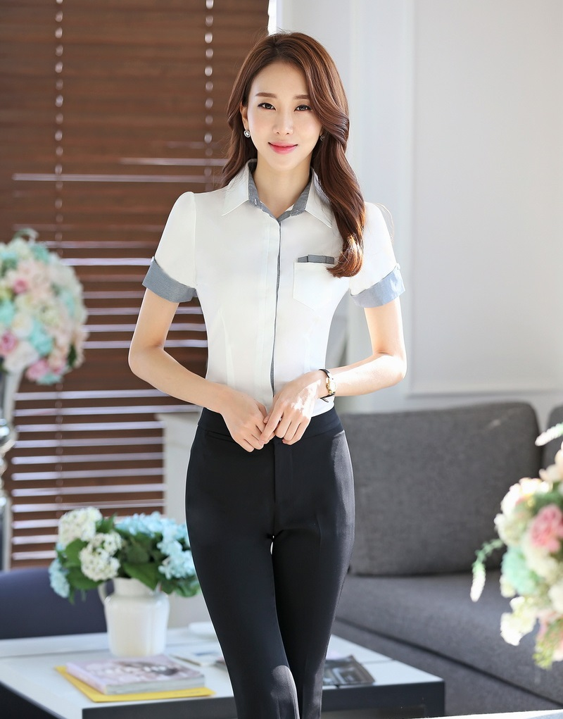 Compare Prices on Office Uniform Blouse White- Online Shopping/Buy ...