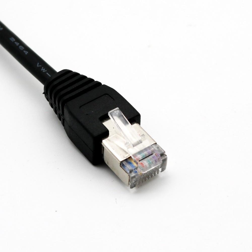 20x CAT5 RJ45 Ethernet réseau LAN mâle à USB 2.0 B prise femelle imprimante adaptateur connecteur câble cordon 15 cm