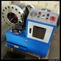 Manufacture Hydraulic Hose Pipe Swaging Machine Up To 2 Inch