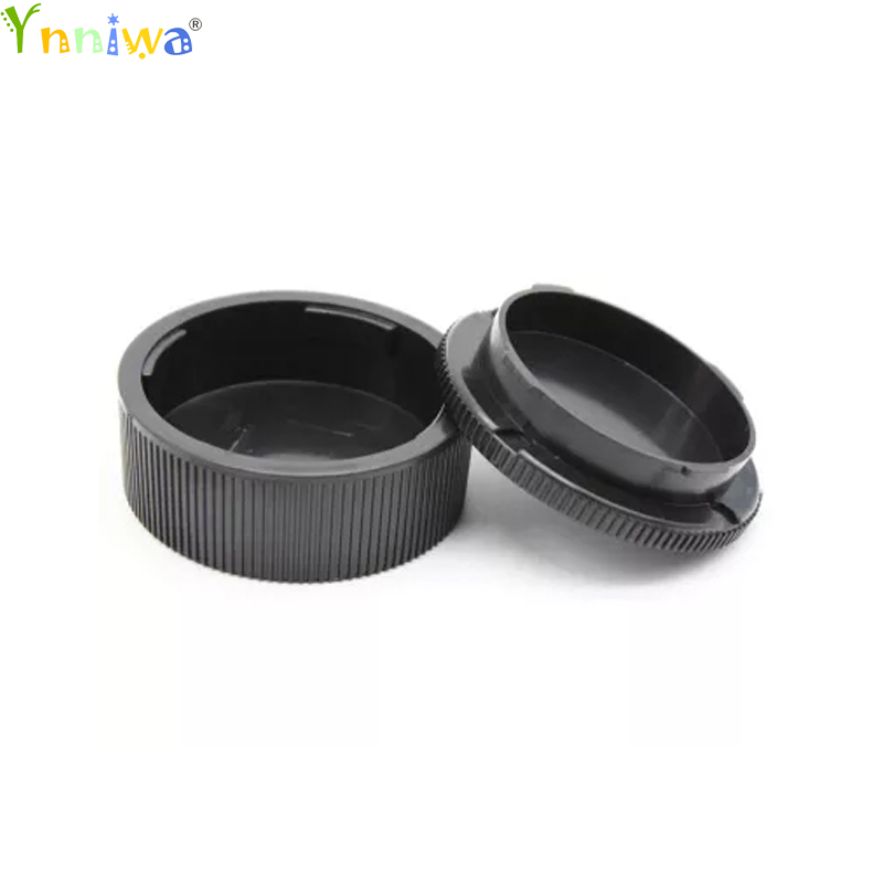 50Pairs new Camera Lens Body Cover Rear Lens Cap Hood Protector for Leica M LM Camera