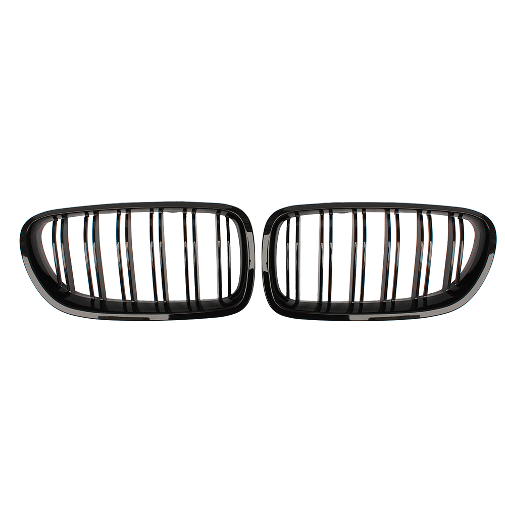 Gloss black ABS front Grill F10 replacement grille for BMW F11 F10 M5 2010+ 520i 528i 530i 535i 550i 518d 520d 525d 530d 535d 4 series f32 f33 f36 front bumper grill gloss black abs car styling grille for bmw f80 m3 f82 f83 m4 replacement car part