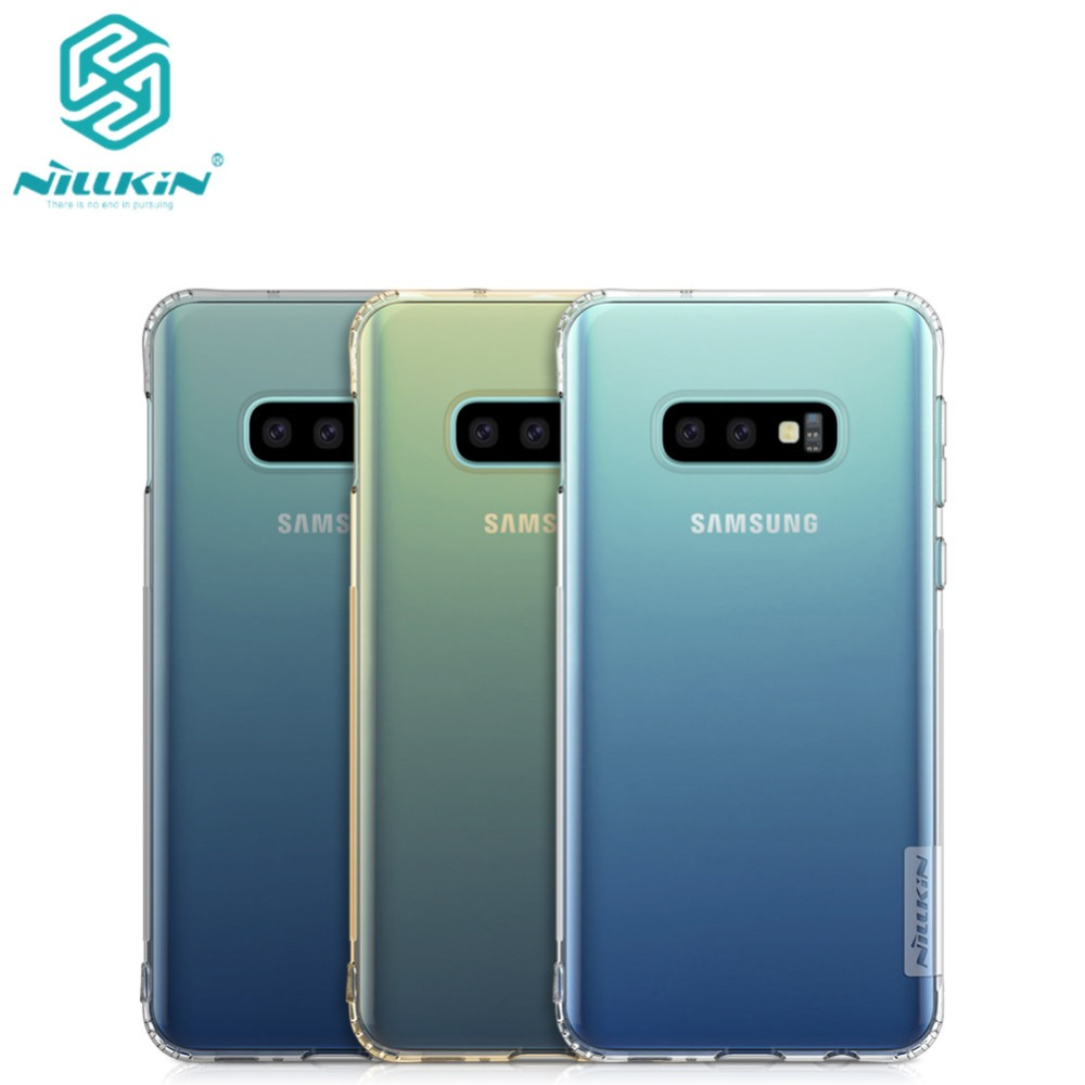 10pcs lot Phone case For Samsung Galaxy S10e Cover Nillkin Nature TPU Soft Cover Case for