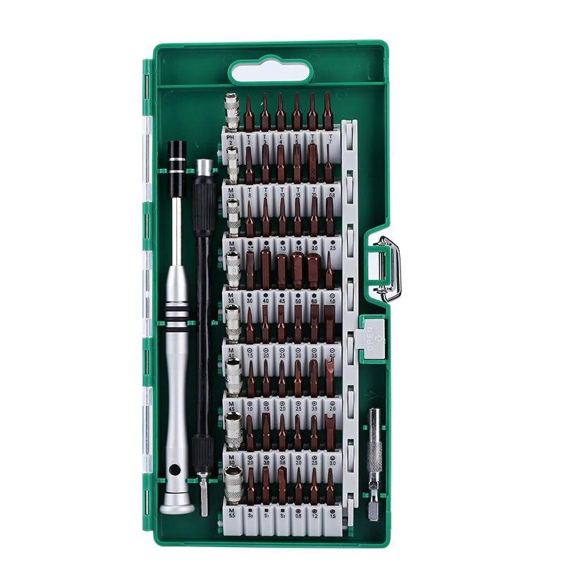 61 in 1 screwdriver Bit Magnetic Driver Kit Precision Screwdriver set Hand Tools for Phone Electronics Repair Tool Kit