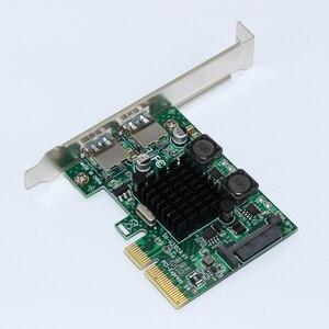 2 Ports USB 3.1 PCI Express Ca
