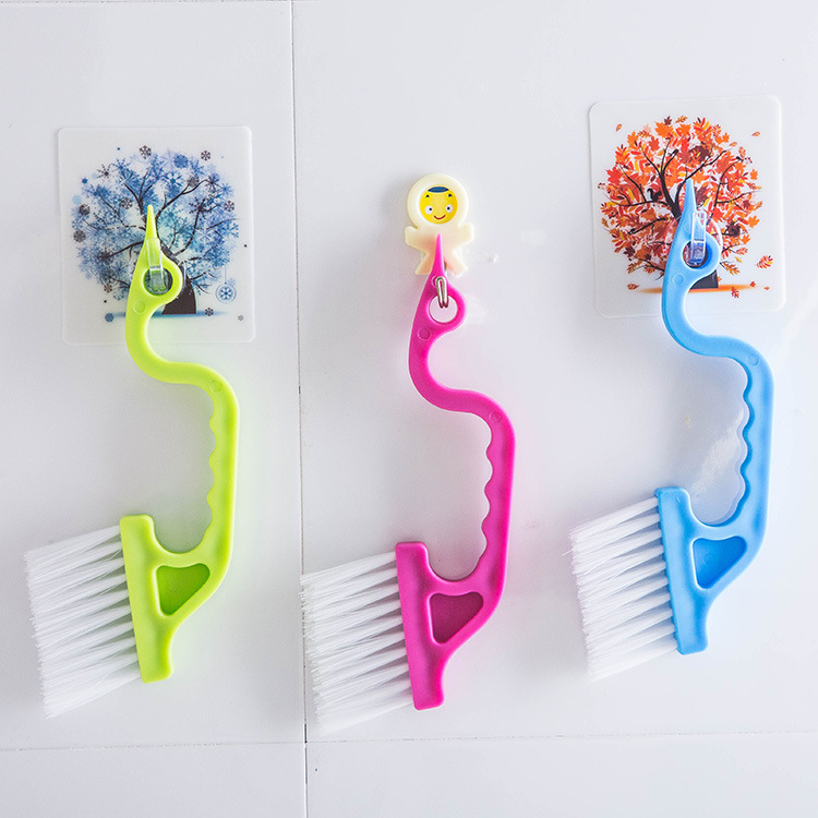 Hand-held Kitchen Air Conditioning Outlet Tube Clean Tool Slit Doors Groove Cleaning Brush J2Y
