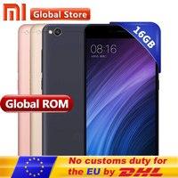 Original Xiaomi Redmi 4A Mobile Phone Snapdragon 425 Quad Core CPU 2GB RAM 16GB ROM 5