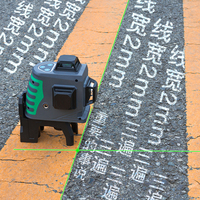 NEW 3D Green Laser Level Self Leveling 360 Horizontal And Vertical Cross green Laser Beam Line