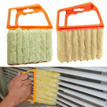 Microfibre Venetian Blind Blade Cleaner Window Conditioner Duster Clean Brush J2Y