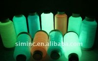 Free Shipping!! Glow in The Dark Embroidery thread/ 2500Y and 1000 Yards cone for any machines