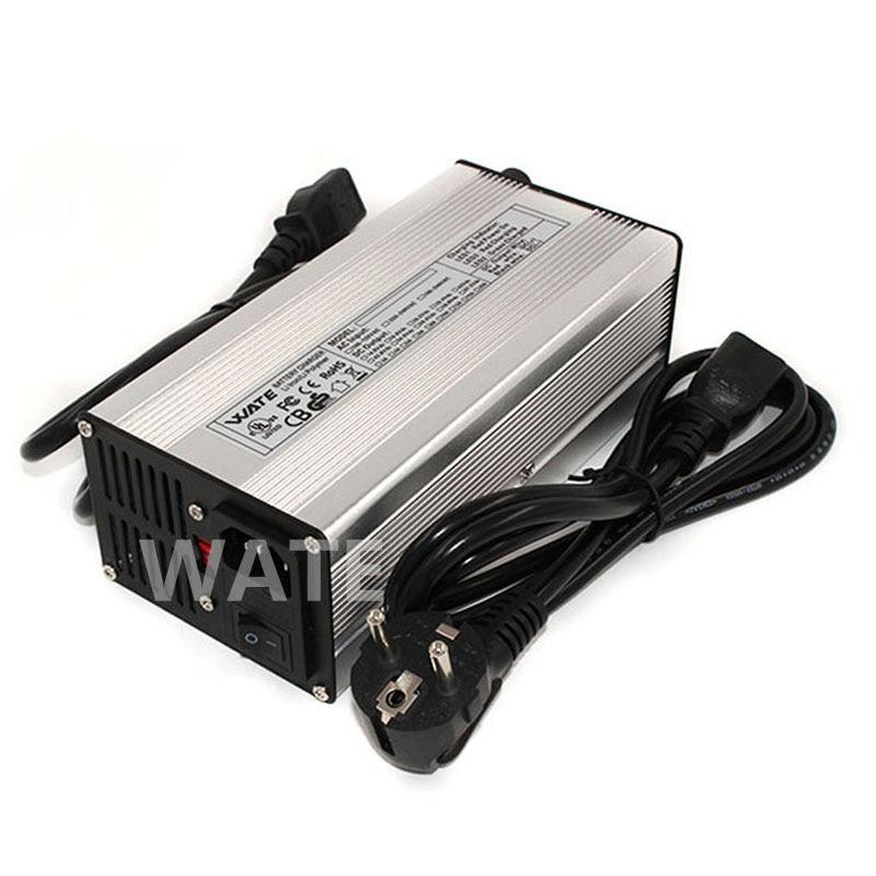 84 v 4A Caricatore Output 72 v 4A li-ion caricatore Porta Utilizzata per 72 v 20 s batteria elettrica della bici e-scooter batteria del caricatore
