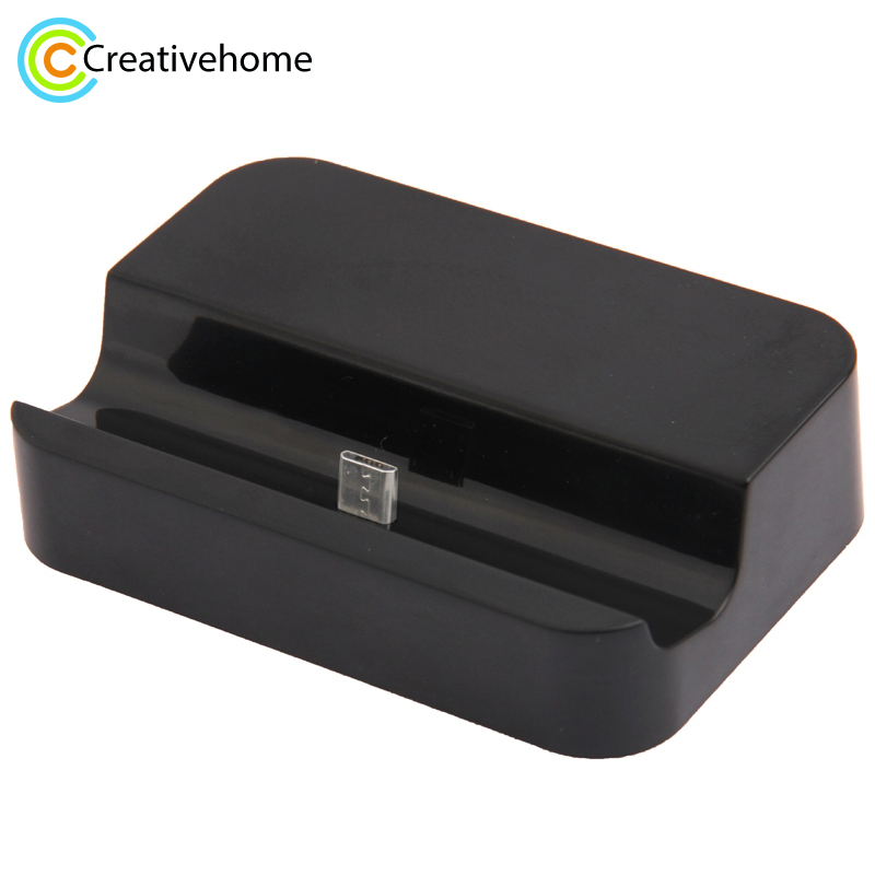 Base Dock For Samsung Android phones Universal mobile charger Micro USB Sync Stand Base Dock Cradle Station Charger
