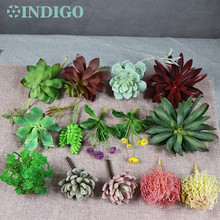 Звезда кактус алоэ эчеверия элегантность искусственное суккулентное растение пластиковые цветочные украшения зеленый Растительный фон