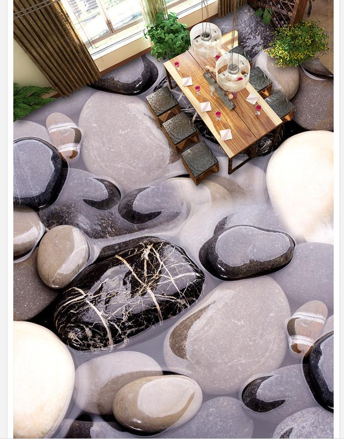 все цены на 3D art stone pebbles bathroom floor 3d pvc wallpaper wallpaper for bathroom waterproof Home Decoration онлайн