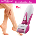 Red smooth strong electric pedicure tool / Foot Care Cleansing Exfoliating Foot Care Tool +1ps For scholls function roller heads