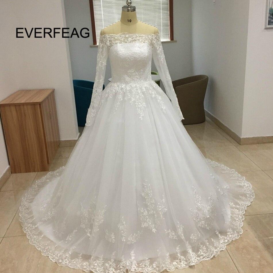 Vestido De Noiva 2018 Princess Wedding Dress Ball Gown Off: Puffy Ball Gown Wedding Dress 2018 New Strapless Lace Up