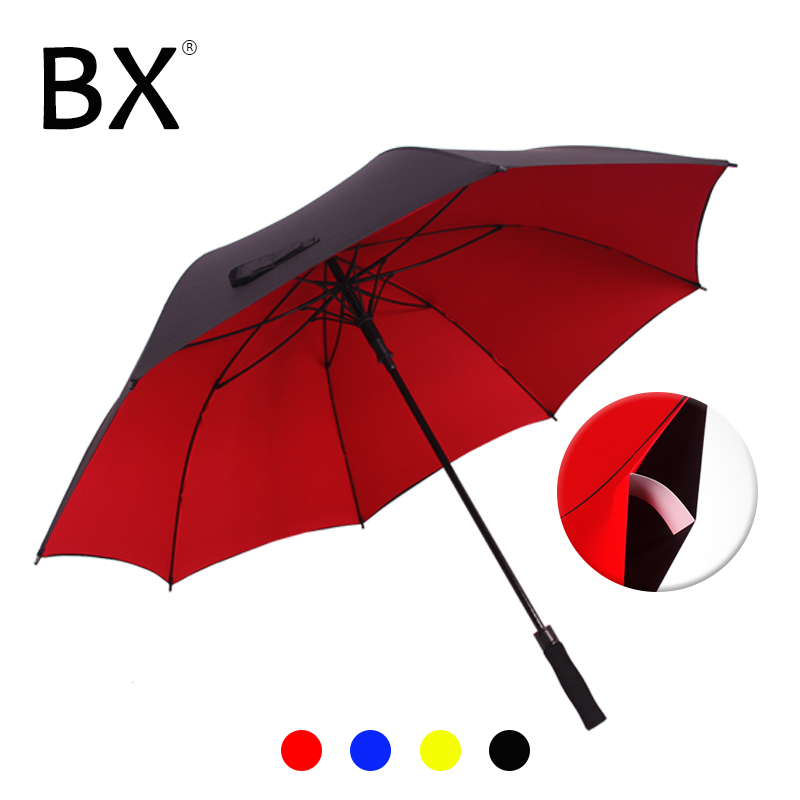 Bachon 130 cm großer regenschirm männlich golf regen regenschirm winddicht doppel-schicht auto-open lange griff dach weibliche männlichen
