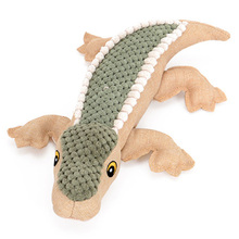 Crocodile Style Plush Squeaky Toy