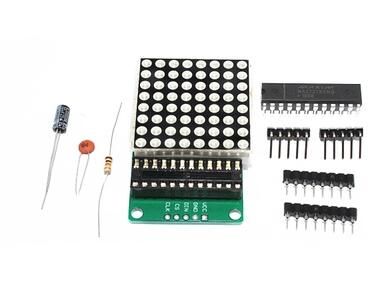 Free shipping 20set MAX7219 dot matrix module module DIY kit MAX7219 module MCU control module Connector
