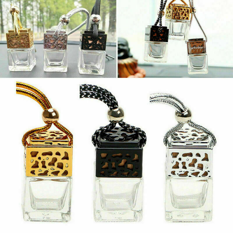 10x Hanging Empty Car Perfume Bottle Diffuser Air Freshner Gadget Mini Ornament  Essential Oil Car Diffuser Auto Products 2019