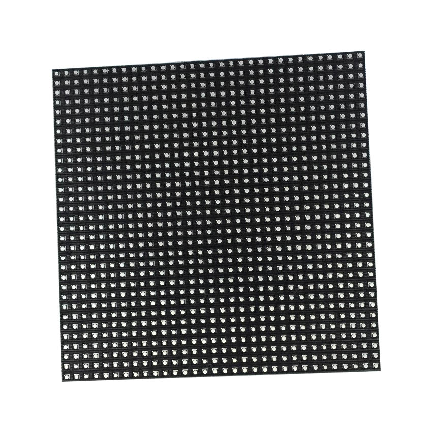 Indoor LED Screen Module P6 192*192mm 32*32dots Rgb 1/16S SMD3528 For Full Color Led Display Panel