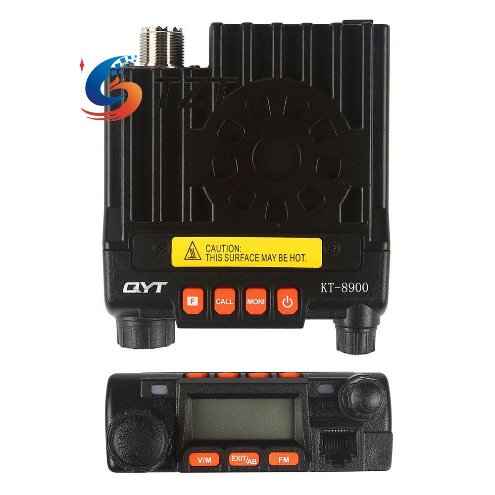 QYT KT8900 Walkie Talkie Transceiver UV 136-174MHz 400-480MHz Dual Band Mobile FM Radio Black baofeng uv 82 dual band handheld transceiver radio walkie talkie page 7