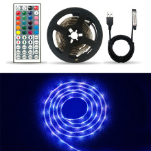 DC5V USB LED strip 5050 RGB Flexible Light 1M 2M 5M TV Background Lighting Adhesive Tape IP20 / IP65 waterproof
