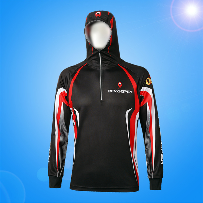 Outdoor Sport Fishing Clothings Sun Protection Fishing Clothing Quick Dry Sport Angling Fishing Clothing 1 PCS can be Customized