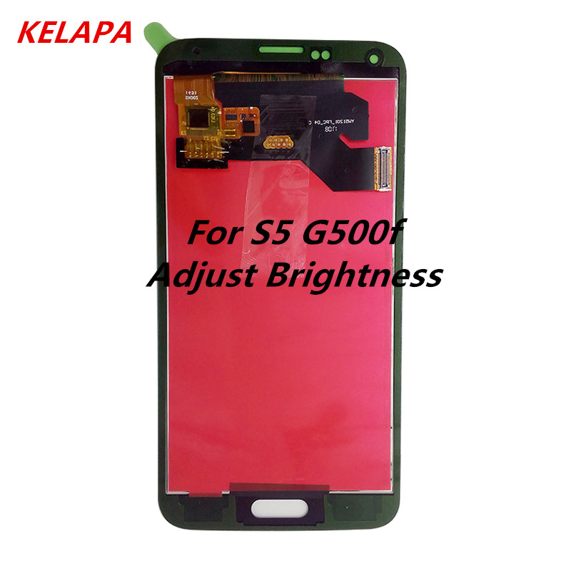 For <font><b>Samsung</b></font> S5 LCD <font><b>G900F</b></font> <font><b>Display</b></font> LCD Screen Touch Digitizer Assembly Compatible for <font><b>Samsung</b></font> Galaxy S5 G900 <font><b>G900F</b></font> LCD image