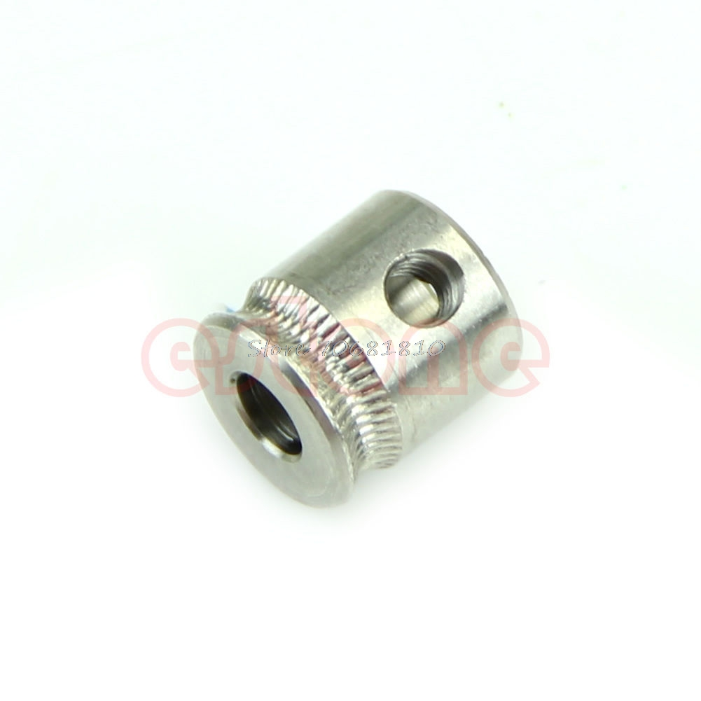 MK7 Stainless Steel Extruder Drive Gear Hobbed Gear For Reprap 3D Printer -R179 Drop Shipping