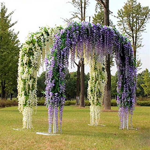 artificial vine hanging flower for home bachelorette party country wedding centerpieces bouquet church bridal shower decoration
