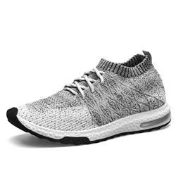 Мужская обувь, сетчатая дышащая обувь на шнуровке, новинка 2019 года, модная мужская обувь, весна-осень, смешанные цвета, zapatos hombre